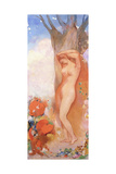 Rebirth, C.1908 Giclee Print by Odilon Redon