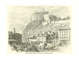 Edinburgh Castle, from the Grassmarket Giclee Print