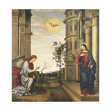 The Annunciation Giclee Print by Francesco Francia