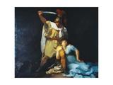 Radamisto Killing Zenobia Giclee Print by Luigi Sabatelli