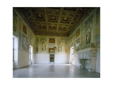 Frescoes Giclee Print by Giulio Romano