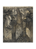 Going to the Battle, 1858 Giclee Print by Sir Edward Coley Burne-Jones