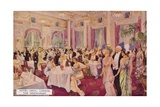 The Restaurant, Hotel Cecil, London Giclee Print