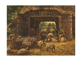 Sheep Shearing, 1892 Giclee Print by William Mark Fisher
