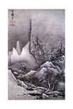 Winter Landscape Giclee Print by Toyo Sesshu