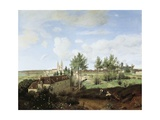 View of Soissons Giclee Print by Jean-Baptiste-Camille Corot