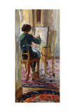 Daughter of the Artist; La Fille De L'Artiste Giclee Print by Henri Lebasque