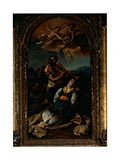 Martyrdom of St Agnes, 1684 - 1764 Giclee Print by Marco Benefial