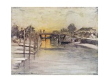 Over the Bridge Giclee Print by Mortimer Ludington Menpes