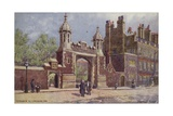 Entrance to Lincoln's Inn, London Giclee Print by Charles Edwin Flower
