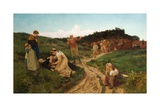 End of Her Journey, 1875 Giclee Print by Alice Havers