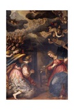 Annunciation Giclee Print by Giovanni Battista Paggi