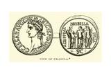 Coin of Caligula Giclee Print by  English School