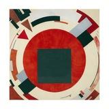 Proun, Circa 1922, El Lissitzky Giclee-trykk av El Lissitzky