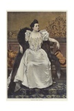 Portrait of Madame Mathilde Madeleine Menier Giclee Print by Francois Flameng