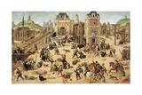 St. Bartholomew's Day Massacre, C.1572-84 Giclee Print by Francois Dubois