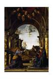 Annunciation Giclee Print by Marco Palmezzano