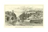 Clifton Suspension Bridge, from Ashton Meadow Giclee Print