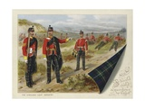 The Highland Light Infantry Giclee Print by Richard Simkin