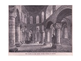 The Chapel in the White Tower, Tower of London Giclee Print by John Fulleylove