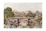 Satake Garden, Tokyo Giclee Print by Ella Du Cane