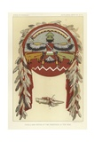 Shield and Fetich of the Priesthood of the Bow Giclee Print