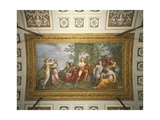 Parnassus, 1811, Fresco Giclee Print by Andrea Appiani