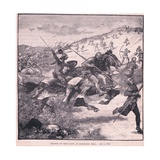 Charge of the Scots at Homildon Hill Ad 1402 Giclee Print by Walter Paget