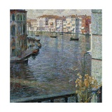 Grand Canal in Venice, 1907 Giclee Print by Umberto Boccioni