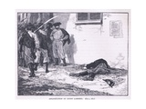 Assassination of Count Lamberg Ad 1849 Giclee Print by Gordon Frederick Browne