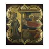 Dream of Pope Innocent III Giclee Print by Taddeo Gaddi