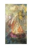 La Barque Giclee Print by Odilon Redon