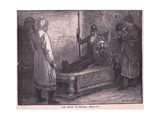 The Death of Siward Ad 1057 Giclee Print by Edward Frederick Brewtnall