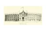 The Plaza De Toros Giclee Print by  English School