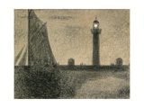 The Lighthouse Giclee Print by Georges Seurat