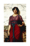 A Grecian Idyll, 1907 Giclee Print by John William Godward