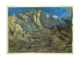 Mount Resegone, 1897 Giclee Print by Gaetano Previati