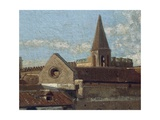The Terrace Giclee Print by Edoardo Dalbono