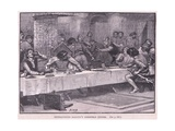 Interupting Balliol's Christmas Dinner Ad 1332 Giclee Print by Henry Marriott Paget