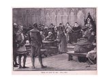 The Trial of Joan of Arc Ad 1431 Giclee Print by Henry Marriott Paget