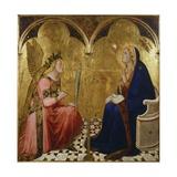Annunciation, 1344 Giclee Print by Ambrogio Lorenzetti