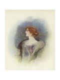 London Society Lady Giclee Print by Dudley Hardy