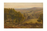 Surrey Hills, 1875 Giclee Print by George Vicat Cole