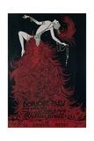Jeanne-Marie Bourgeois, known as Mistinguett Giclee Print