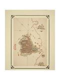 Map of Gallipoli, from the 'Kitab-I Bahriye' Giclee Print by Piri Reis