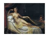 Venus with Satyr Giclee Print by Antonio Canova