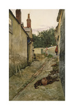 The Gossips Giclee Print by Walter Langley