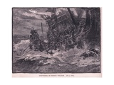 Shipwreck of Prince William Ad 1120 Giclee Print by William Heysham Overend