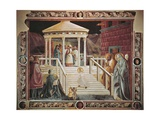 Presentation of Mary at Temple Giclee Print by Paolo Uccello