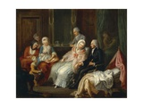 Visit to Doctor Giclee Print by Pierre Adrien Choquet